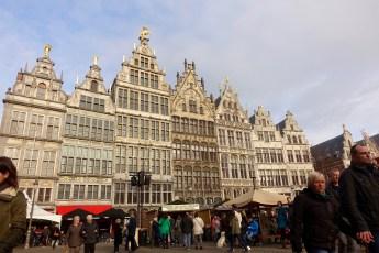 Grote Markt Antwerp buildings