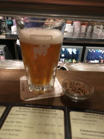 Moeder Lambic beer glass