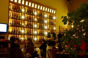 Prague Cafe Savoy dining room