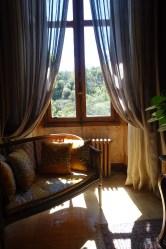 Chateau de Riell sunny window