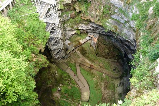 Gouffre de Padirac chasm