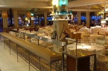 La Coorniche dining area