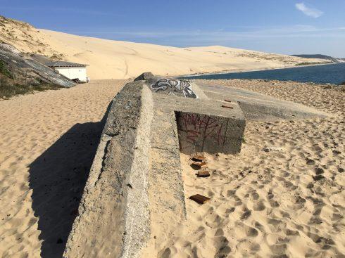 Dune du Pilat Western Wall