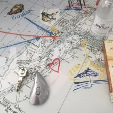 La Coorniche oyster map
