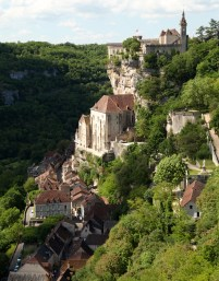 Rocamadour chateau zoom