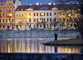 Vltava river lovers
