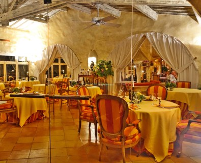 Restaurant du Châtelain interior