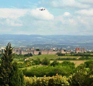 Cité de Carcassonne airplane