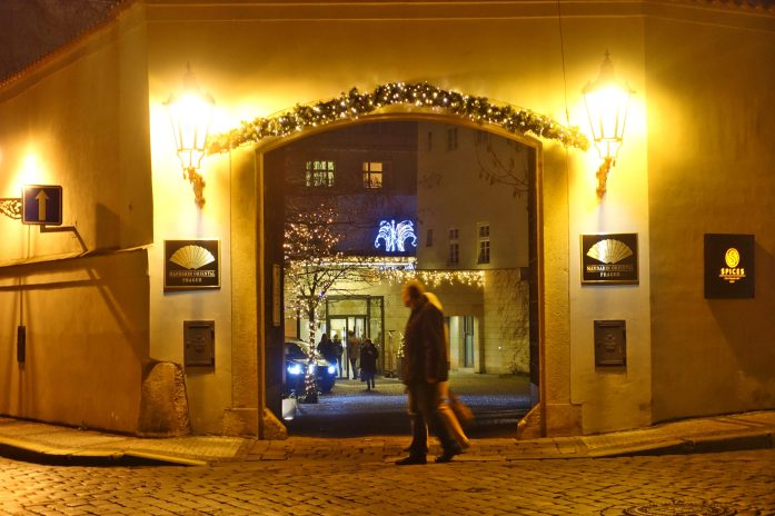 Prague Mandarin Oriental entrance