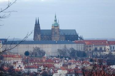 Prague Castel view