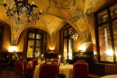 Prague U Malírù dining room