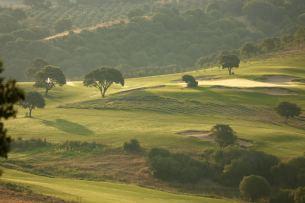 Domaine de Murtoli golf course sunrise