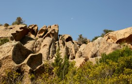 Domaine de Murtoli rock cliff