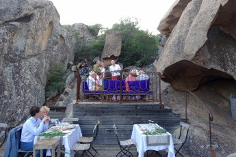 Domaine de Murtoli La Grotte musicians