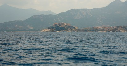 Calvi from the water