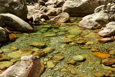 Gorge de Restonica shallow pool