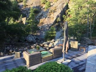 Hotel Dominique Colonna patio chairs