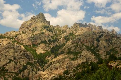 Aiguilles de Bavella mountain