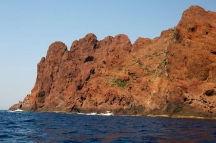 Scandola Nature Reserve red rocks