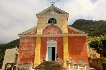 Nonza church front