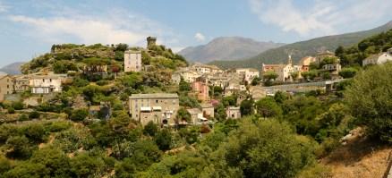 Nonza village wide