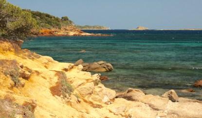 Plage de Palombaggia coastline
