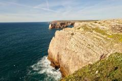 Cabo de Sao Vicente cliffs