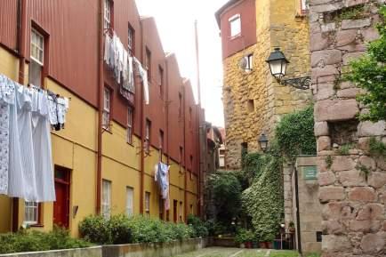Porto colorful buildings