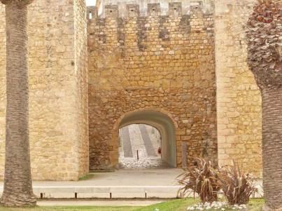 Lagos Castle Entrance far