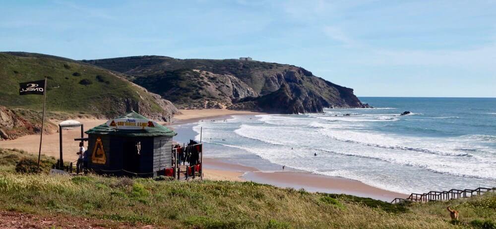 Praia Amado surfshack
