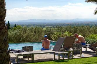 Hotel Mas Lazuli view of Emporda