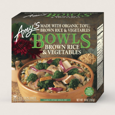 Amys Kitchen  Amys Brown Rice and Vegetables Bowl