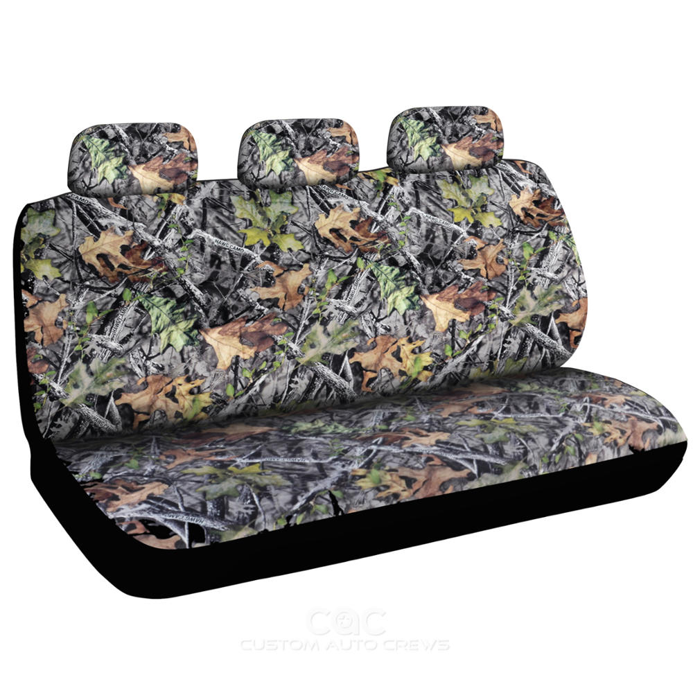 Forest Camouflage Seat Covers - Car Truck Suv Camo Set