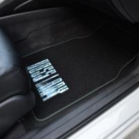 4 Piece Embossed Design Car Carpet Floor Mats Semi Custom ...