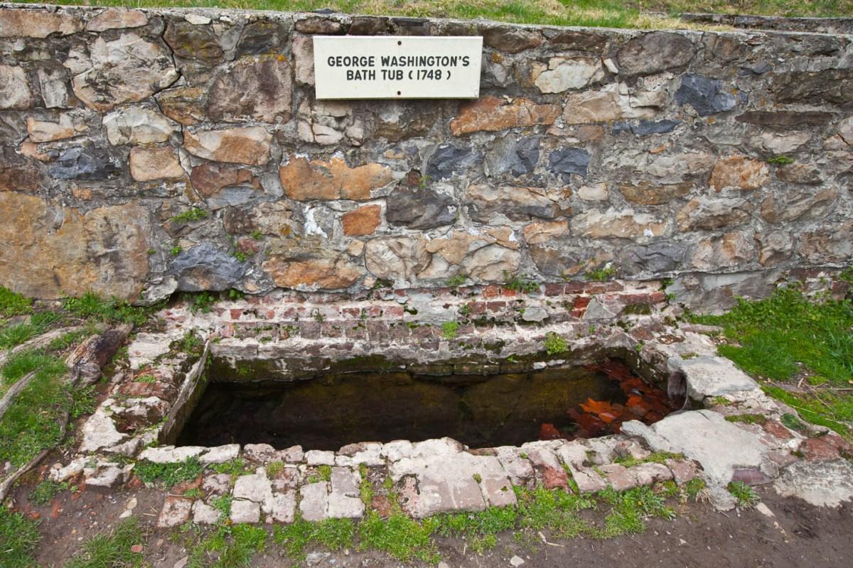 George Washington's Bathtub Vezzani Photography