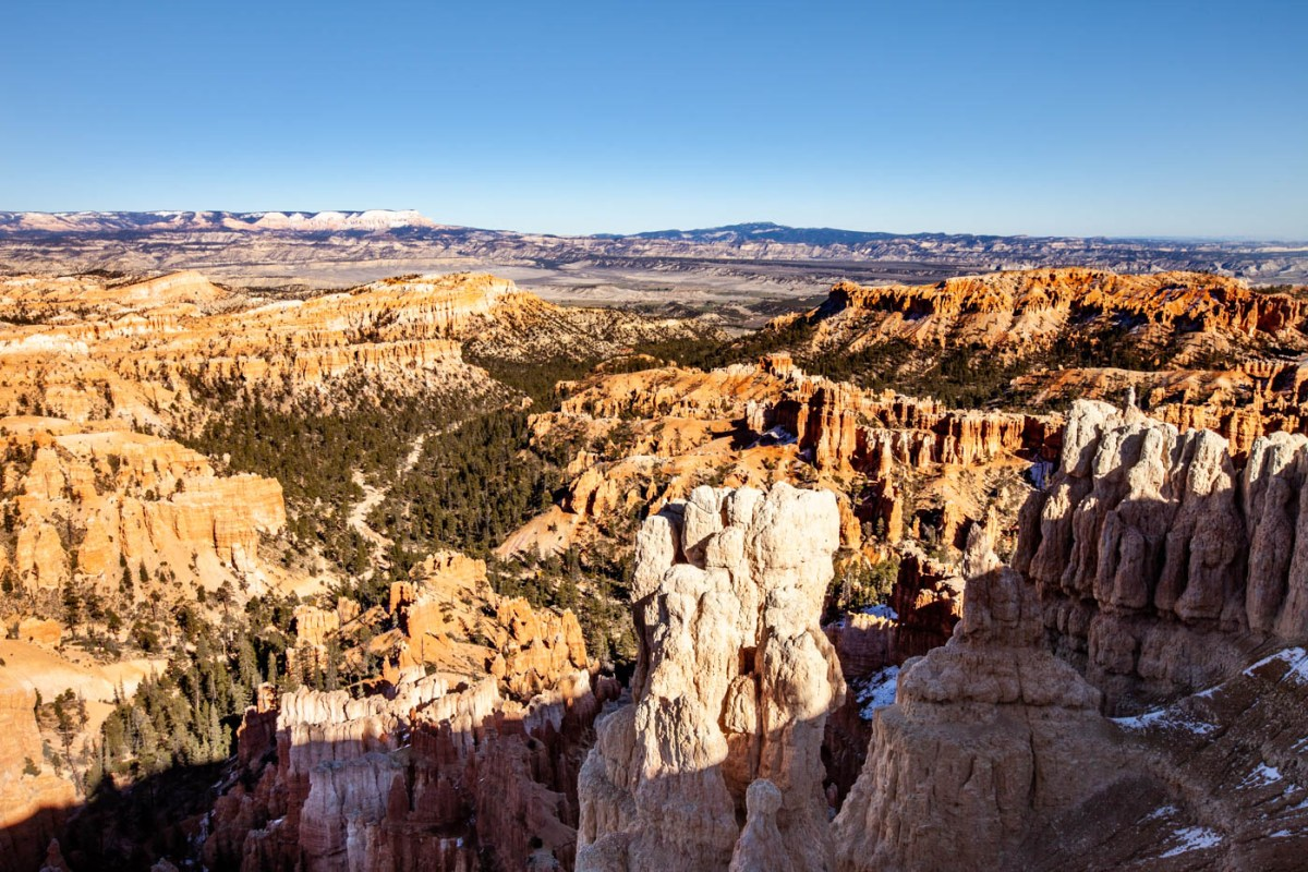 Inspiration Point Mid View, Bryce Canyon National Park, UT #vezzaniphotography