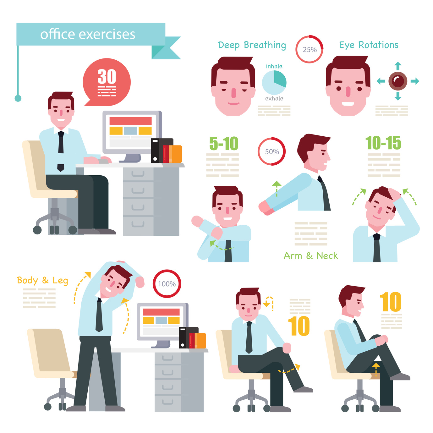Dont Blame The Desk Try These Five Tips To Stay Healthy At Work