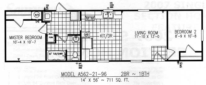 Manufactured Home Square Footage Preferences