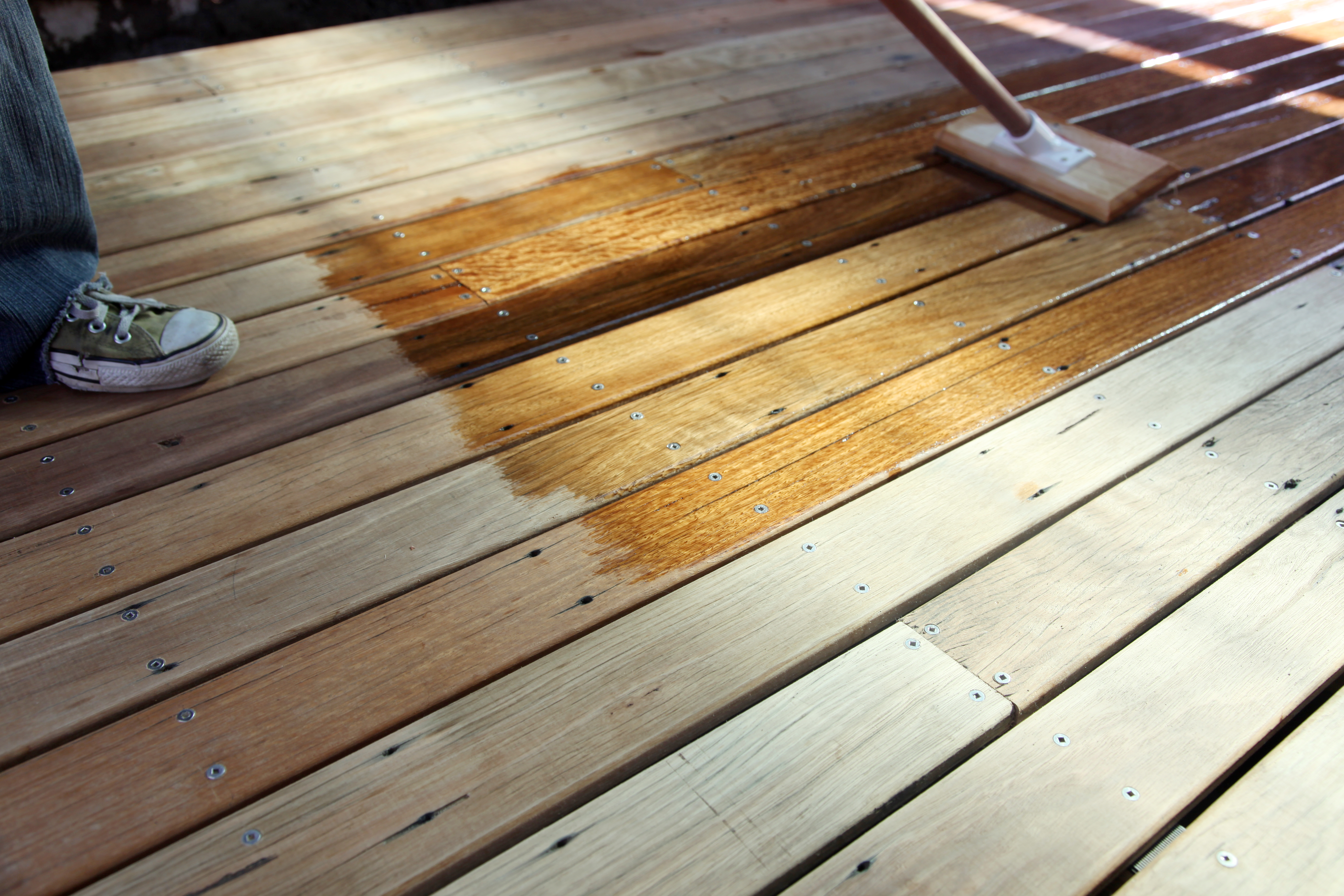 How To Use Wood Conditioner On Pine