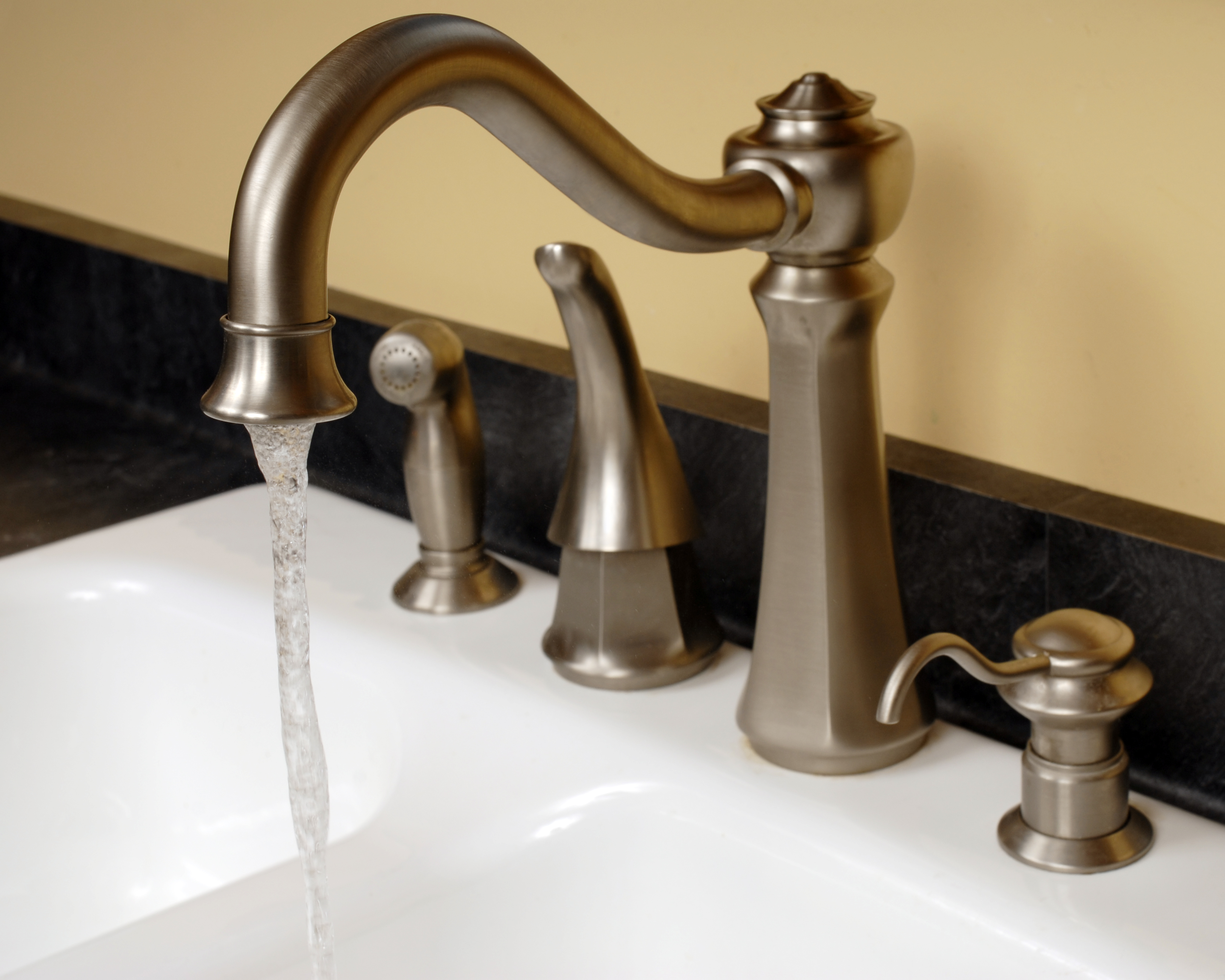 https homeguides sfgate com fix dripping two lever kitchen faucet 70339 html