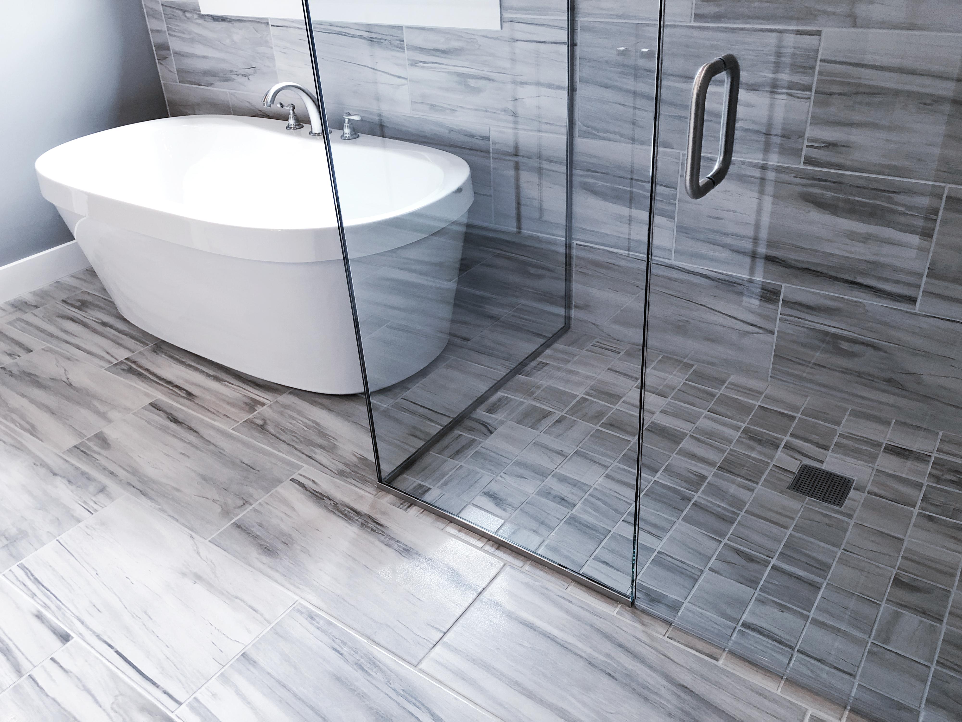 how to tile a shower floor hunker