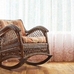 How To Make A Rocking Chair Not Rock Fabric Cover Kitchen Chairs Parts Of Hunker