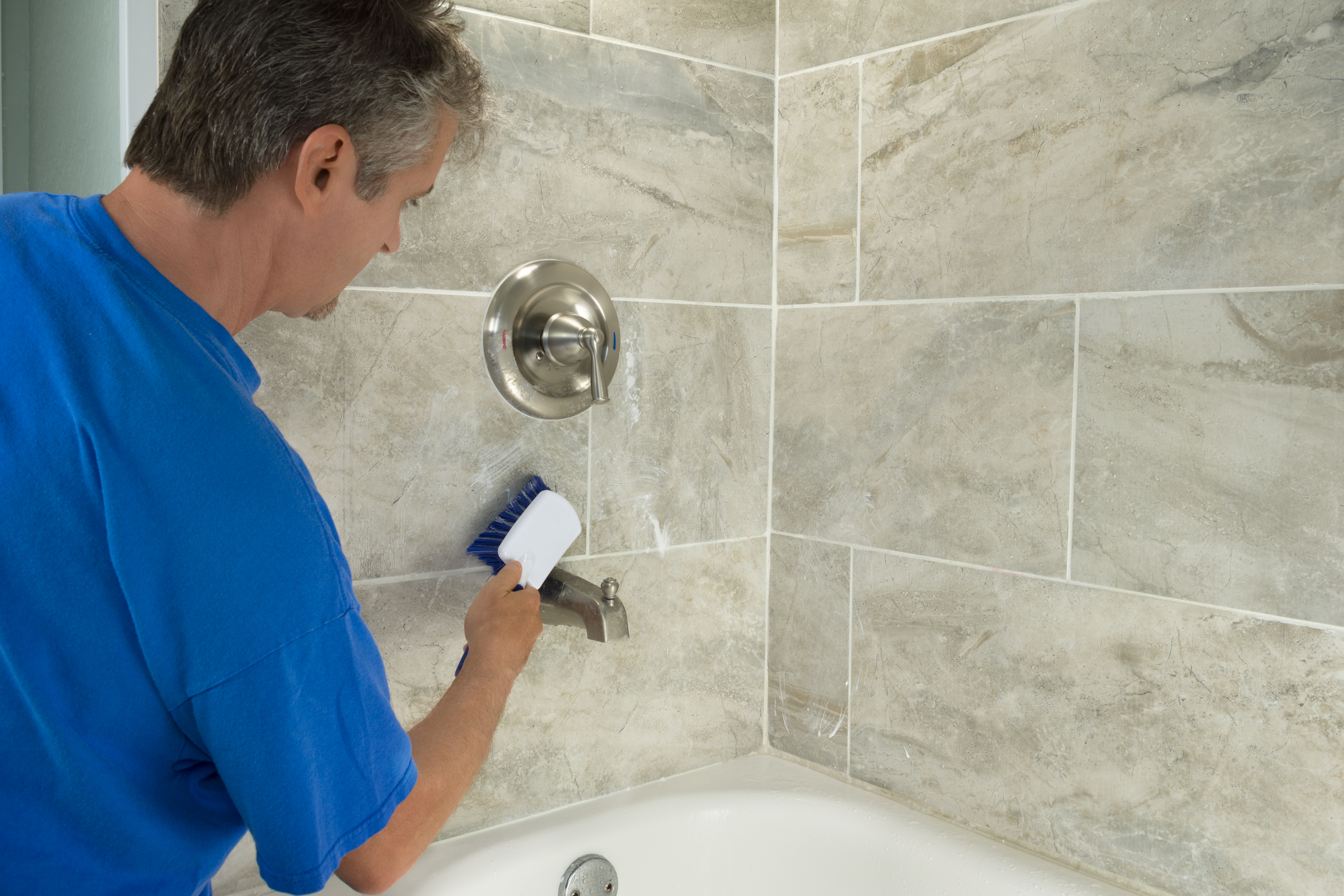 https homeguides sfgate com seal grout shower 38504 html