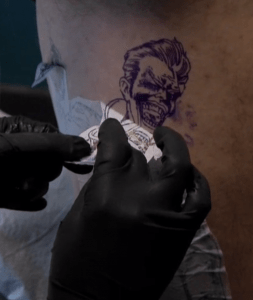 Ink Master - The Joker Tattoo