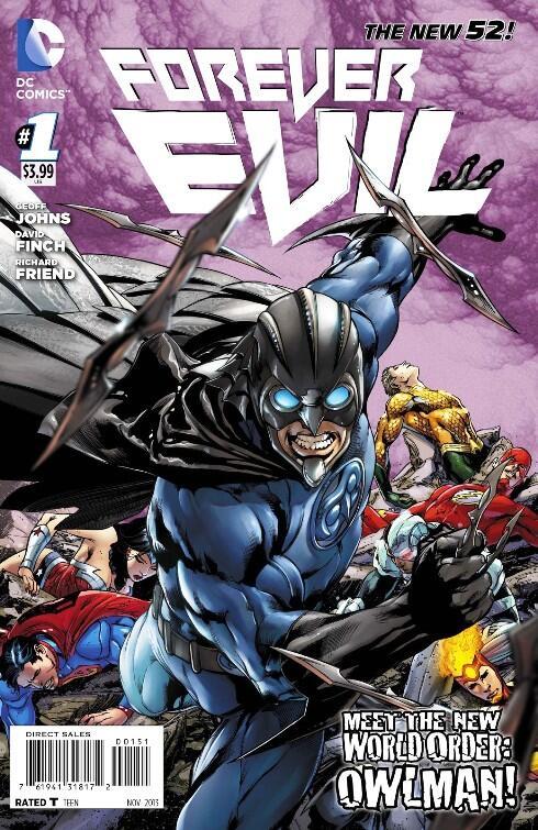 Forever Evil #1 - Owlman Variant