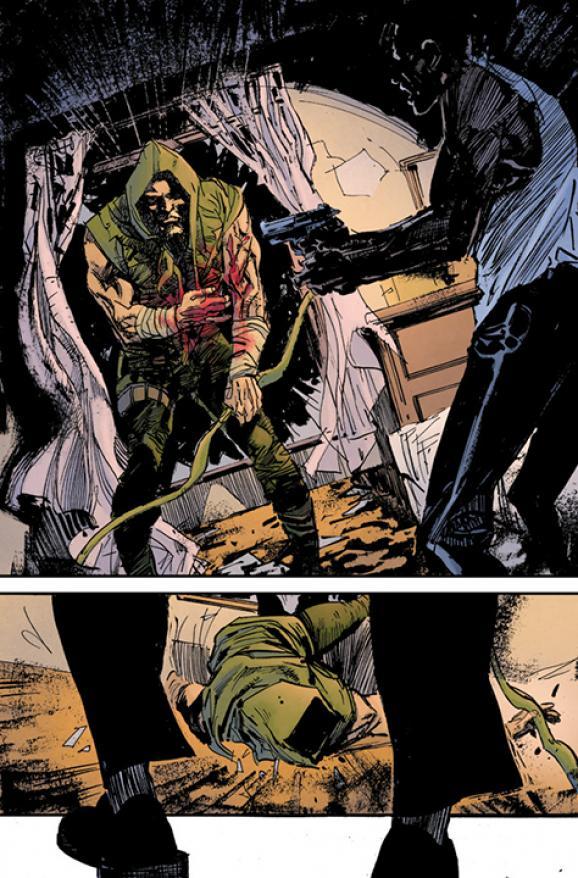 Green Arrow Preview Art