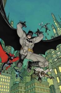 Detective Comics #27 variant cover by Chris Burnham