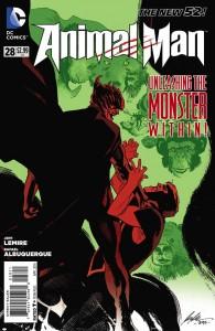 Animal Man #28 cover art by Rafael Albuquerque