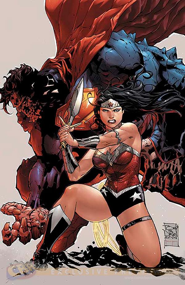 Superman/Wonder Woman #8 cover by Tony Daniel