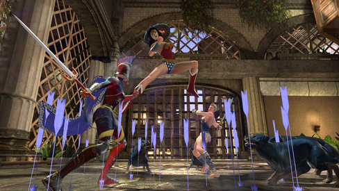 Wonder Woman, Amazon Fury, DC Universe Online,